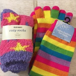 Cozy Colorful Sock Bundle